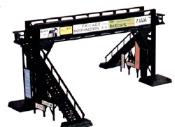 Pedestrian Bridge Snap Kit - HO Scale