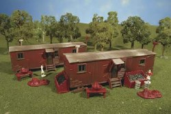 2 Railroad Work Sheds