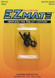 E-Z Mate Knuckle Coupler Center Shank Med  HO Scale
