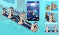 London Tower Bridge Foam 118pc