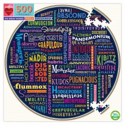 Round:  100 Great Words - 500pc
