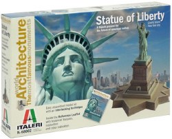 The Statue of Liberty - Statue and Base Model Kit