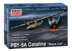 "1/144 PBY-5A Catalina ""Black Cat"" Plastic Model Kit"