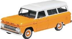 1/25 '66 Chevy Suburban Plastic Model Kit