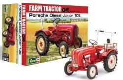 1/24 Porsche Diesel Junior 108 Farm Tractor Plastic Model Kit