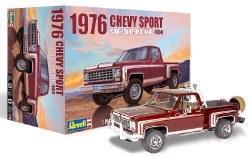 1/24 1976 Chevy Sport Stepside 4x4 Pickup Truck Plastic Model Kit