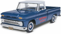 1/25 Chevy Fleetside Pickup Truck Plastic Model Kit