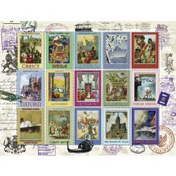 Vacation Stamps 2000 Piece Puzzle