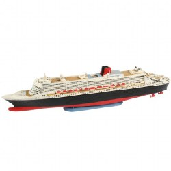 1/1200  Ocean Liner Queen Mary 2 Plastic Model Kit