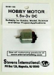 Hobby Motor - 1.5v - 3v DC - Flat Sides