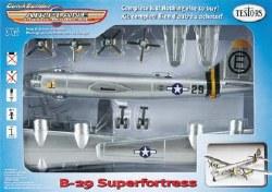 1/130 Snap B-29 Silver Model Kit