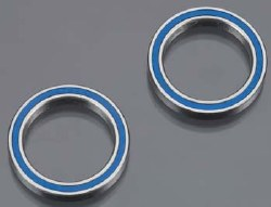 Ball Bearings Blue Rubber Sealed 20x27x4mm