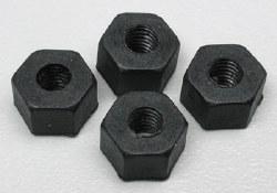 Nylon Wheel Nuts 5mm (4)