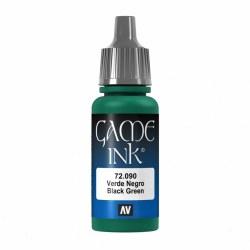 Black Green Ink - Acrylic Dropper Bottle