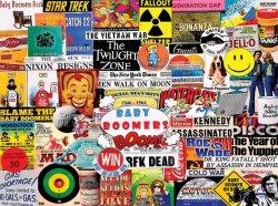 Baby Boomers Fads & Facts 1000pc