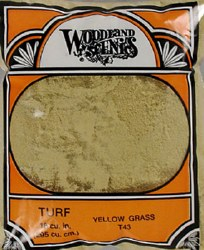 Turf Fine Yellow Grass