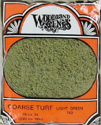 Turf Coarse Light Green 12 oz
