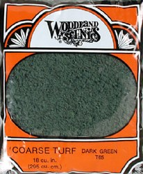 Turf Coarse Dark Green 12 oz