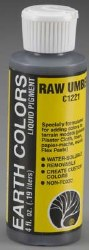 Earth Color Raw Umber 4 oz