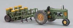 Tractor & Planter Autoscene HO Scale