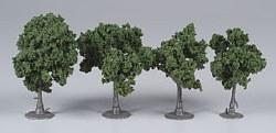 """4 Assembled Tree Dark Green 2-3"""""""