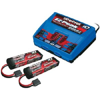 3-Cell Battery/Charger Completer Pack with 2 Batteries