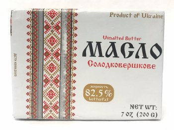 Traditional Ukranian Style Butter 200g