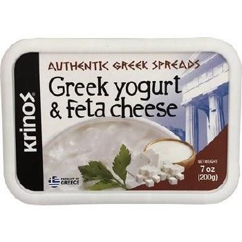 Krinos Authentic Greek Yogurt and Feta Cheese Spread 200g R