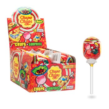 Perfetti Van Melle Chupa Chups Surprise Lollipop Single Lollipop