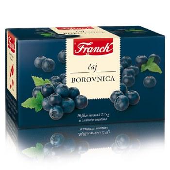Franck Blueberry Tea 55g