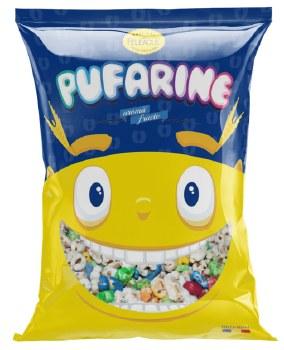 Feleacul Pufarine Aroma Fructe Fruit Flavored Puffed Rice Cereal 300g