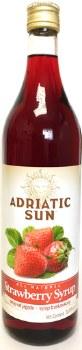 Adriatic Sun Strawberry Syrup 1L