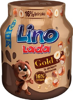 Podravka Lino Lada Gold Hazelnut Chocolate Spread 350g