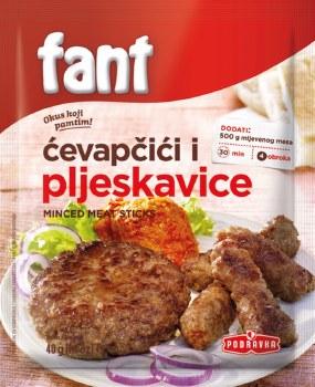 Podravka Fant Cevapi and Pljeskavice Seasoning Mix 40g
