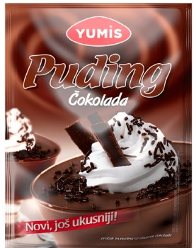 Yumis Chocolate Pudding 45g