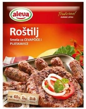 Aleva Seasoning Mix For Cevapi And Hamburgers 60g