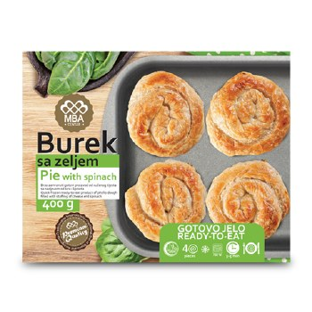 Bujrum Burek with Spinach and Cheese 400g F