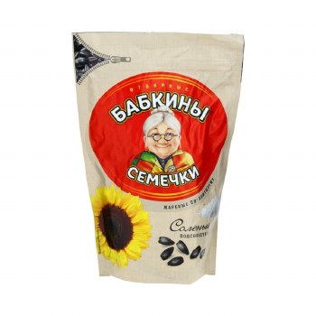 Babkiny Semechki Roasted and Salted Sunflower Seeds 300g