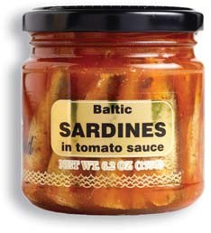 Baltic Gold Sardines in Tomato Sauce 175g R