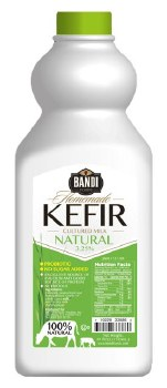 Bandi Natural Kefir 3.25 Percent 59 fl oz R