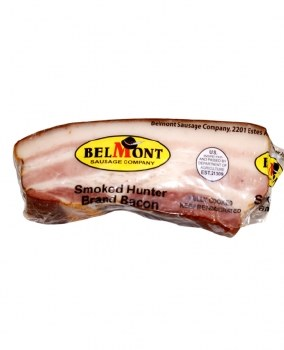 Belmont Smoked Hunter Rind-On Bacon approx. 0.75lb