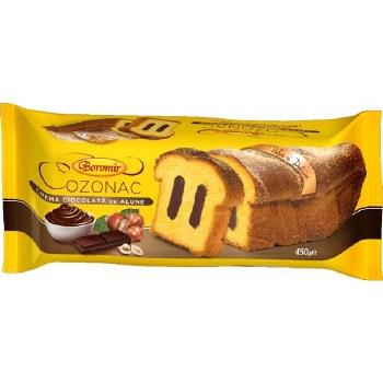 Boromir Cozonac with Chocolate and Hazelnut Cream 450g