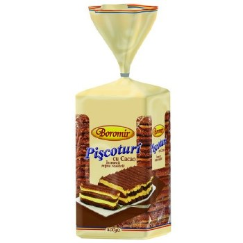 Boromir Cocoa Lady Fingers 400g