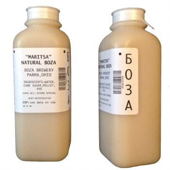 Maritsa Natural Boza 16 fl oz CONSUME WITHIN 5 DAYS OF RECEIVING R