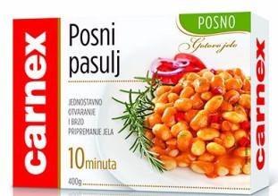 Carnex Lean Beans (Posni Pasulj) 400g