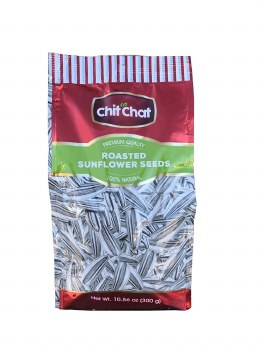 Chit Chat Roasted Sunflower Seeds 300g