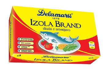 Delamaris Izola Mackerel Salad 125g