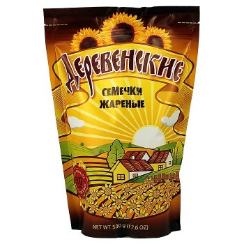 Derevenskie Roasted Unsalted Sunflower Seeds 500g