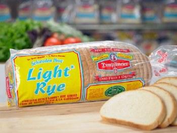 Dimp Swedish Style Light Rye Bread 680g