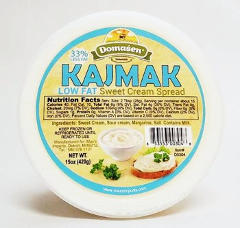 Domasen Lowfat Kajmak Cream Cheese Spread 16oz